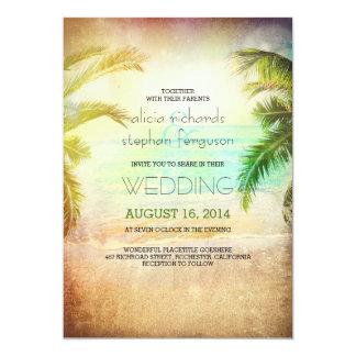 Rustic Beach Wedding Invitations Announcements Zazzle