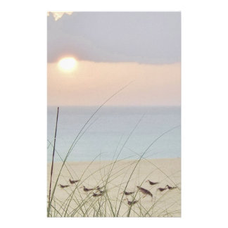 Sunset Beaches Stationery