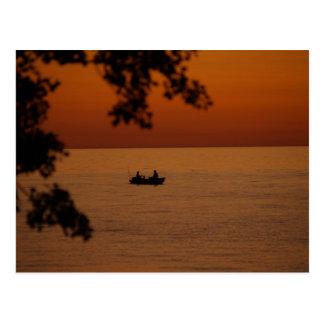 sunset beauty postcard