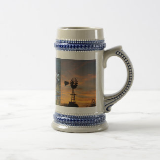Sunset Beer Stein
