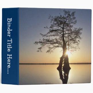 "Sunset Behind a Tree - 2"" Binder"