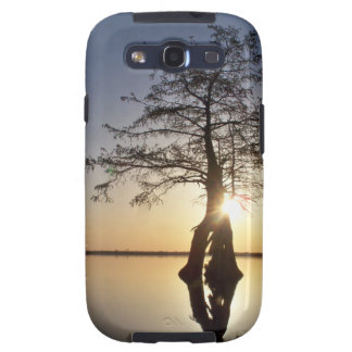 Sunset Behind a Tree Galaxy S3 Cover