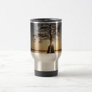 Sunset Behind a Tree Mug