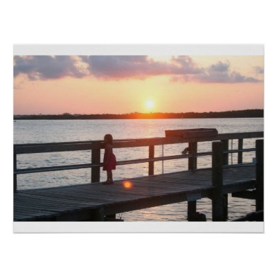 """sunset behind dock in florida with little girl poster r071d45421cbe42fb83db3bfaffbf0179 6lf 400 ... who appeared on """"Piers Morgan Tonight"""" to say that his brother had no ..."""