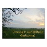 Sunset Beltane Gathering Invitation