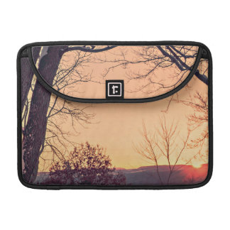 Sunset bench sleeves for MacBook pro