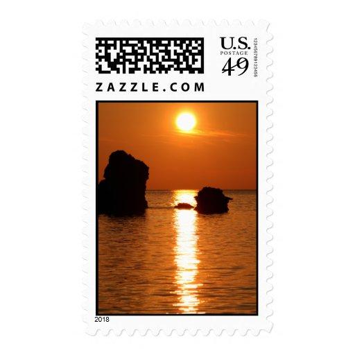 Sunset Bermuda Stamps