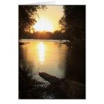 Sunset Between Friends Card