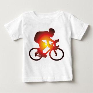 Sunset Bicycle Rider Baby T-Shirt