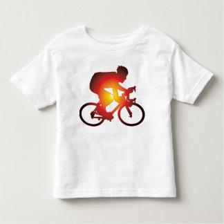 Sunset Bicycle Rider Toddler T-shirt