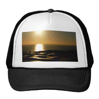 Sunset Bigbury Over See Trucker Hat