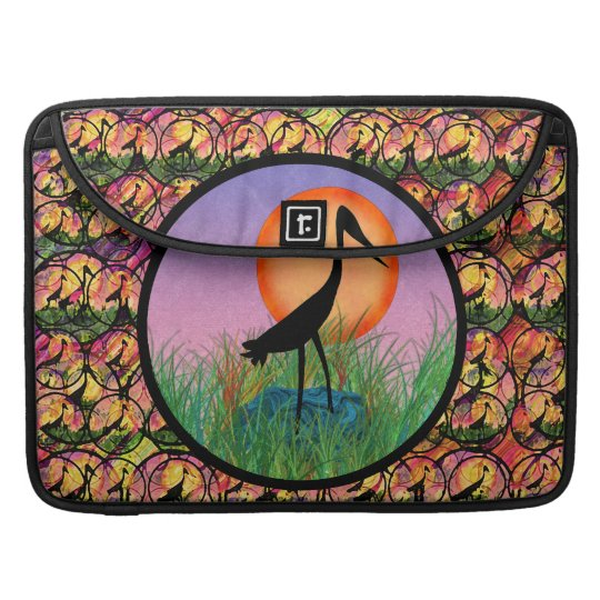 Sunset Bird MacBook Pro Flap Sleeve
