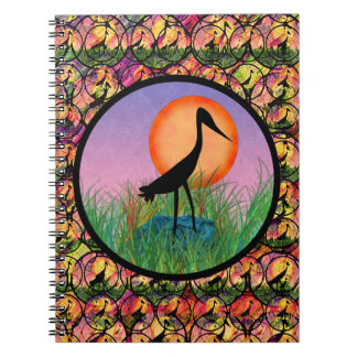 Sunset Bird Notebook
