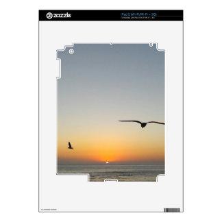 Sunset birds skins for iPad 2