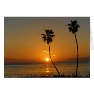 Sunset Bliss Card