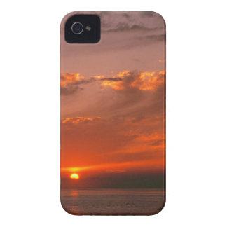 Sunset Bloodorange Pacific Ocean California iPhone 4 Cover
