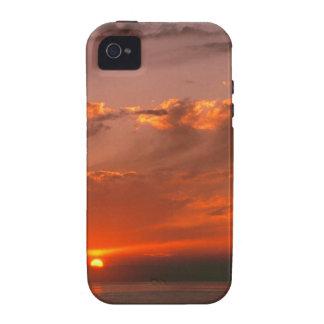 Sunset Bloodorange Pacific Ocean California iPhone 4/4S Covers