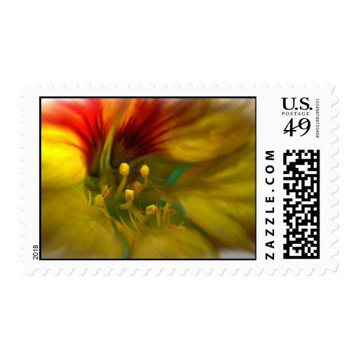 Sunset Blossom Stamp