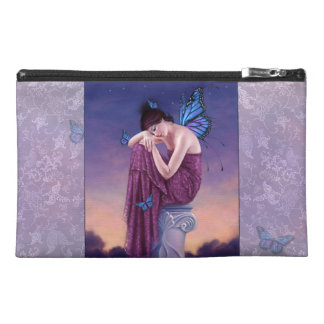 Sunset Blue Monarch Butterfly Fairy Accessory Bag