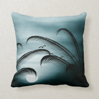 Sunset Blue Pillow