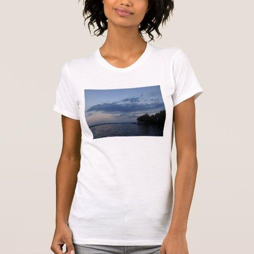 Sunset Blue Sky Over Cayuga Lake NY Shirt