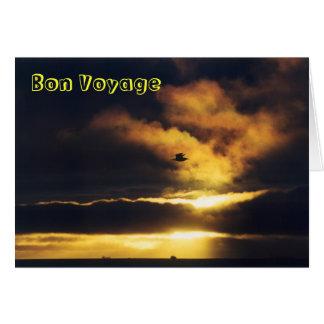 Sunset Bon Voyage Card
