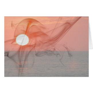 Sunset Booze Cruise Card
