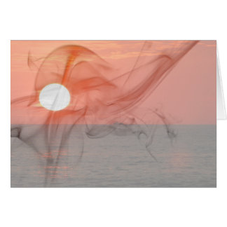 Sunset Booze Cruise; Customizable Card