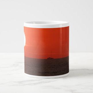 Sunset Booze Cruise Giant Coffee Mug