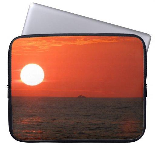 Sunset Booze Cruise Laptop Computer Sleeve