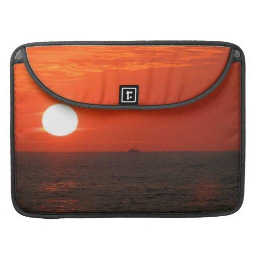 Sunset Booze Cruise Sleeves For MacBooks