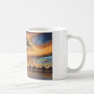 Sunset Bora Bora Coffee Mugs