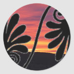 Sunset Border Sticker