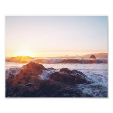 "Beach Themed ""Sunset Break"" Photo Print"