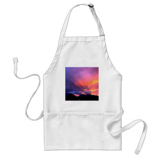 Sunset Break The Clouds Aprons