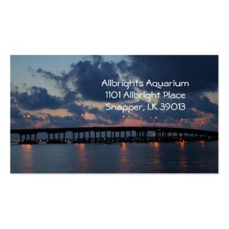 Sunset Bridge Business Card