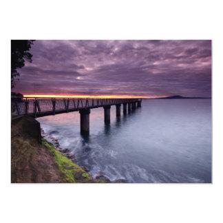 Sunset Bridge Card