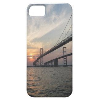 Sunset Bridge Photo iPhone Case