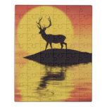 Sunset Buck Jigsaw Puzzle