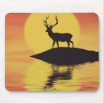 Sunset Buck Mouse Pad