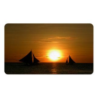 Sunset Business Card Templates