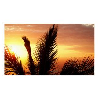 Sunset Business Card