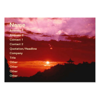 Sunset Business Cards
