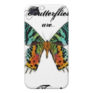 Sunset Butterfly Cases For iPhone 4