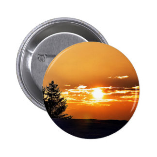 Sunset 2 Inch Round Button