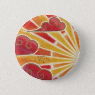Sunset button badge