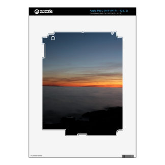 sunset by lake, Kingston, Ontario, Canada iPad 3 Decals