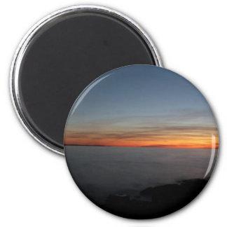 sunset by lake, Kingston, Ontario, Canada Magnet