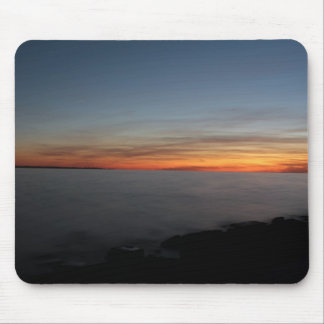 sunset by lake, Kingston, Ontario, Canada Mouse Pad