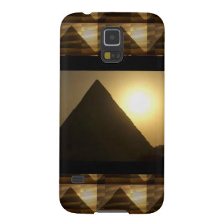 Sunset by PYRAMIDS of Egypt : Vintage Architecture Galaxy S5 Covers